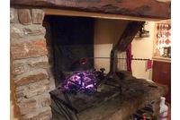 cuisine avec cheminee